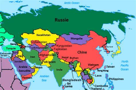 Thailande Carte Geographique Monde by Infos Sur Carte Geographique Europe Asie Arts Et Voyages