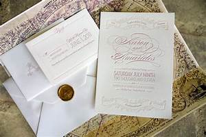 amarides aaron39s brooklyn wedding invitations With wedding invitations with wax paper
