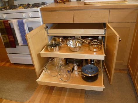 kitchen cabinets pull out drawers install pull out shelves for kitchen cabinets home 8121