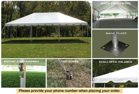 celina tent  white classic frame tent outdoor party wedding event ebay
