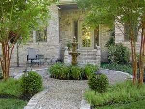 pea gravel patio designs patio