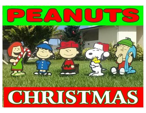 charlie brown gang outdoor peanuts outdoor decorations ebay
