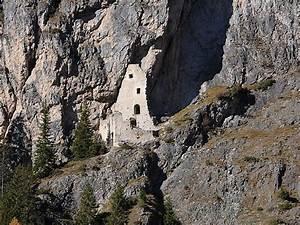 Wolkenstein Castle In Val Gardena  Italy