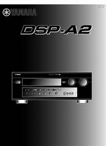 Yamaha Stereo Amplifier Dsp