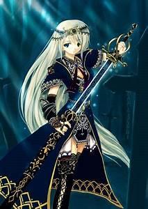 Anime Warrior Girl | Anime Manga Pictures Wallpaper PC ...