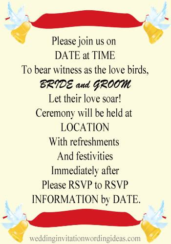 casual wedding invitation wording wedding invitation wording wedding invitation wordings casual