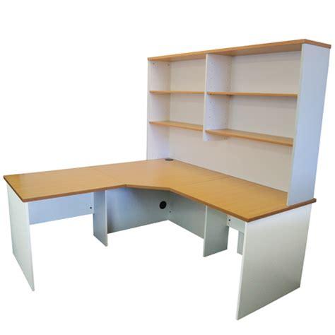 origo corner workstation office desk home study beech white for sale australia wide buy