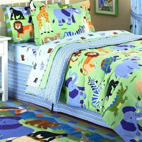 jungle safari kids bedding twin fullqueen comforters