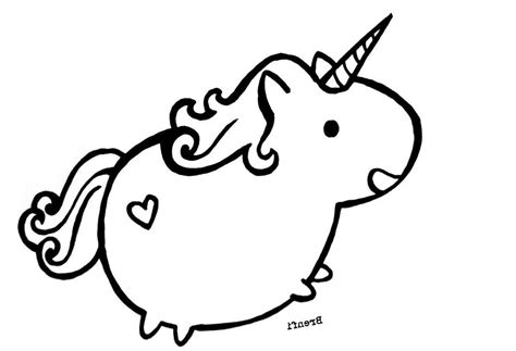 Printable Pusheen Coloring Pages Hand Drawing
