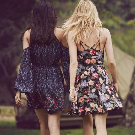 Long Sofas by Dress Floral Floral Dress Hippie Boho Dress Hipster