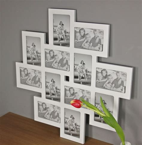 bilderrahmen collage wei 223 holz rahmen galerie neu wandrahmen fotorahmen ebay