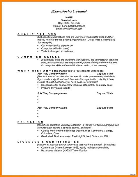 Special Skills Exles For Resume by 12 Skills List For Resumes Exles Letter