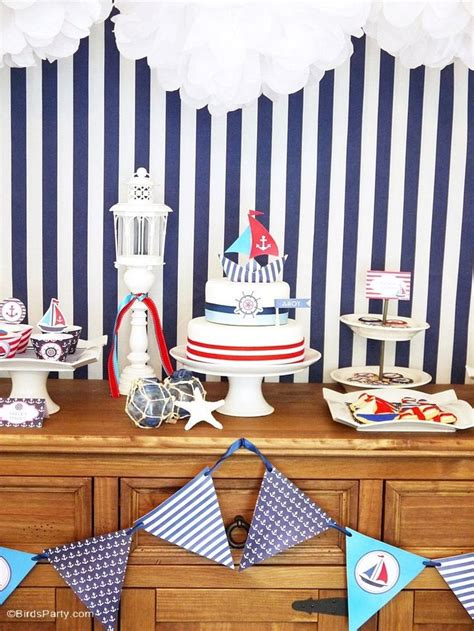65 Best Nautical Party Images On Pinterest  Baby Shower