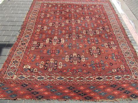 Antique Yomud Carpet Turkestan 1880 Size270x180cm 106