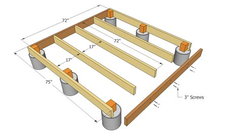 12x16 Floating Deck Plans by Small Shed Plans So Simple You Can Do It Yourself