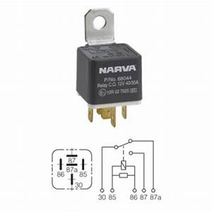 Narva Relay 12v 5pin 40  30a Diode