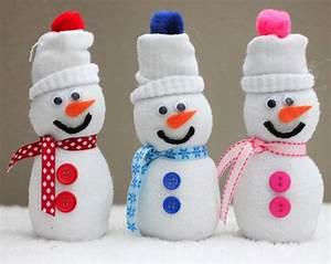 Schneemann Aus Socken Mit Reis : lustigen schneemann basteln 12 tolle ideen f r winterliche dekoration ~ A.2002-acura-tl-radio.info Haus und Dekorationen