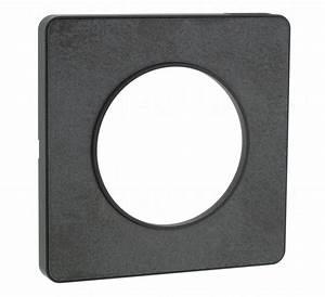 Plaque Schneider Odace : plaque schneider electric odace touch 1 poste ardoise ~ Dallasstarsshop.com Idées de Décoration