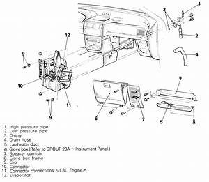 how to remove the evaporator from a 1993 isuzu trooper With isuzu npr horn