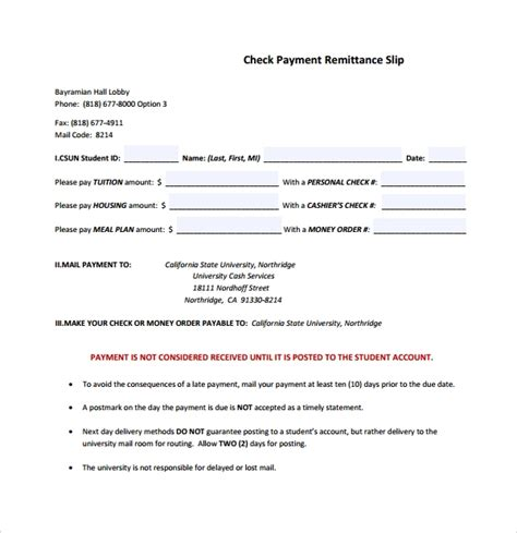 sample remittance template   documents   word