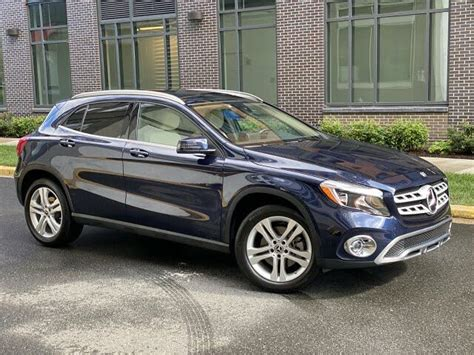 *premium 1 package, interior package (ambient lighting), multimed. Used 2018 Mercedes-Benz GLA-Class GLA 250 4MATIC for Sale Right Now - CarGurus