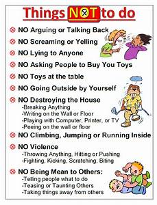 common parenting rules that should be broken house rules With house rules chart template