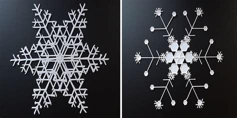 Snowflake Door Decorations by Snowflake Machine Makes One Billion Unique Snowflake