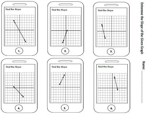 slope worksheet pdf worksheets for all and