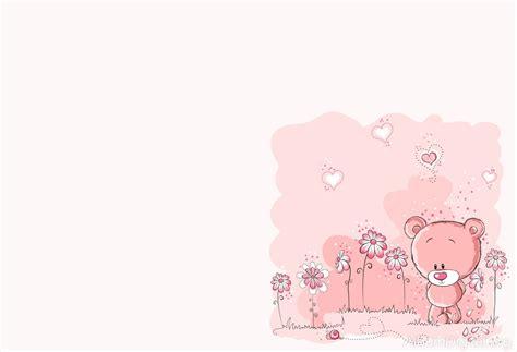 osito pensativo de color rosa fondo hofmann classic