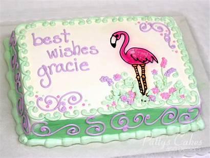 Cake Cakes Flamingo Wishes Pattys