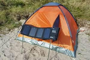tent solar panel of twente student