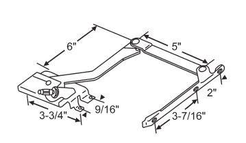 pella casement window parts operators crank roto gear parts le  left   handing