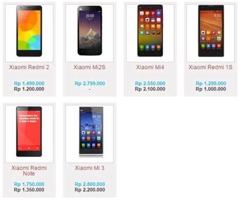 Daftar Harga Hp Merk Xiaomi Terbaru daftar harga hp powerbank laptop terbaru bulan ini