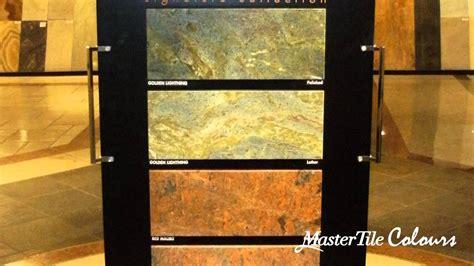 master tile colours