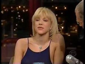 Courtney Love - Interview on David Letterman Show (1999 ...