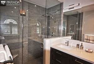 Traditional bathroom renovation project in Toronto with