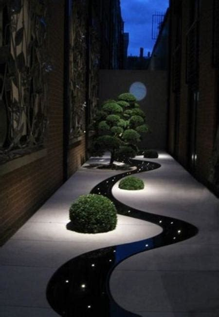 modern outdoor lighting ideas night yard landscaping with outdoor lights 25 beautiful