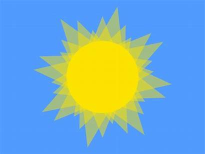 Sunny Animated Gifs Giphy Sun Summer Nature