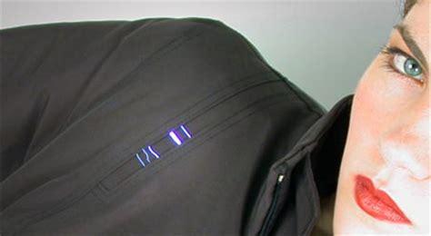 shocking jacket  personal protection geekologie