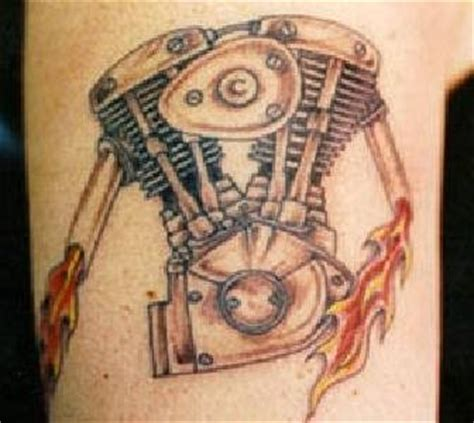 tatouages de motards de bikers  de cyclistes
