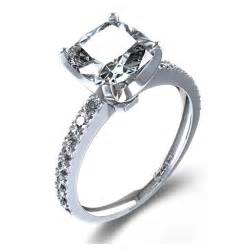 cushion engagement rings cushion cut cushion cut settings engagement rings