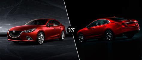 2016 Mazda3 Vs 2016 Mazda6