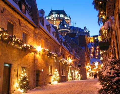 Quebec City For The Holiday Cheer