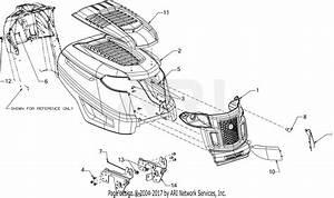 Troy Bilt Horse Xp  13cx79kt011   2016  Parts Diagram For