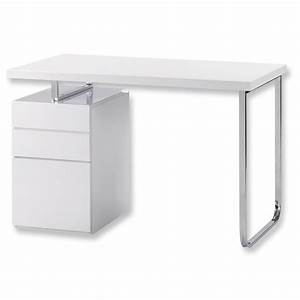 Schreibtisch Weiß 120 Cm : wei hochglanz schreibtisch com forafrica ~ Whattoseeinmadrid.com Haus und Dekorationen