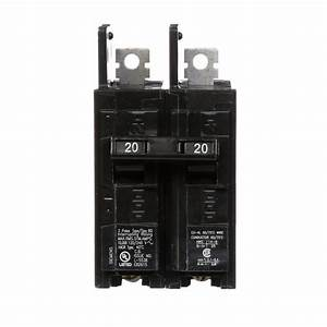 Square D Homeline 20 Amp 2