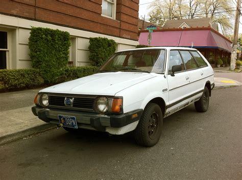 subaru wagon 1980 old parked cars 1980 subaru dl wagon