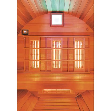 cabina infrarossi clicson cabina sauna esterna a raggi infrarossi barrel ir