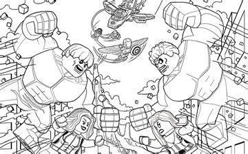 hulk  red hulk lego coloring pages spiderman