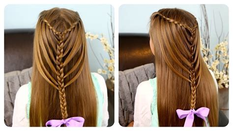 Waterfall Twists Into Mermaid Braid Cute Girls